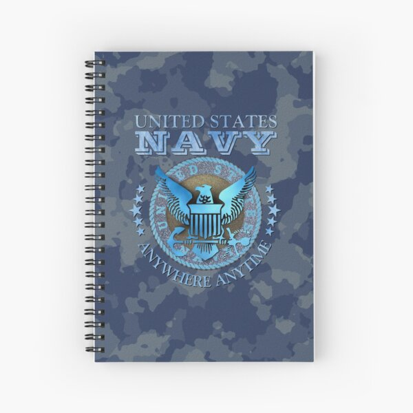 United States Navy Spiral Notebook