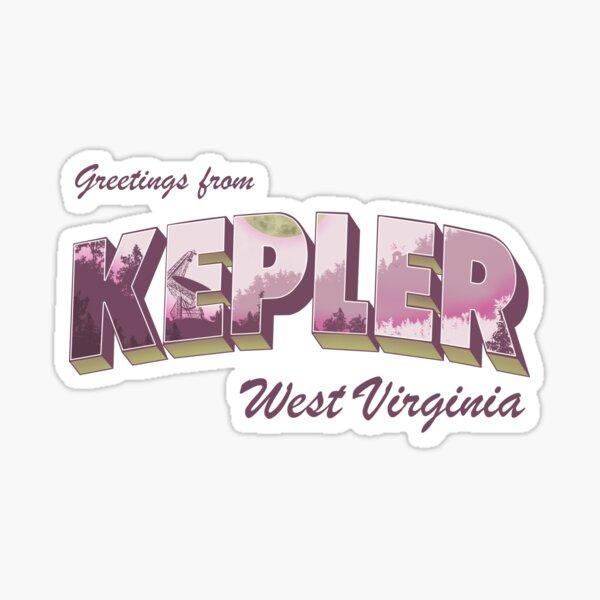 Keep Kepler Weird Sticker