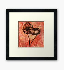Love Blossoms Framed Print