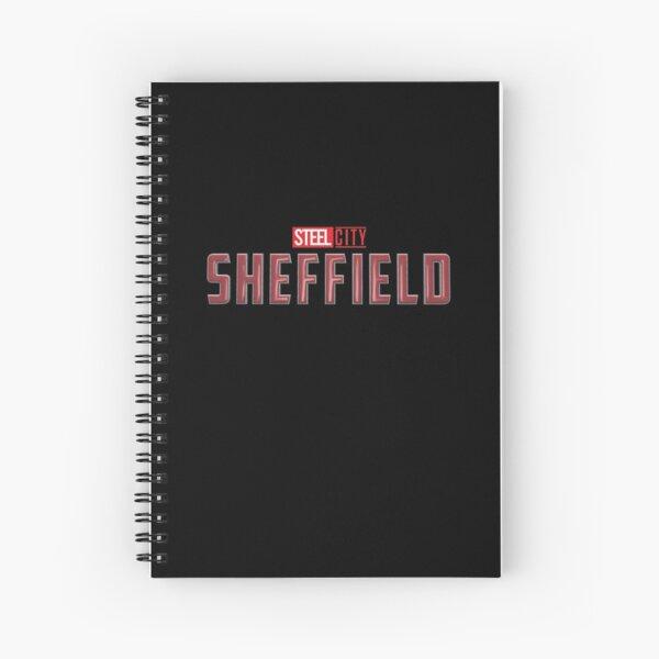 CAPTAIN SHEFFIELD (Sheffield Superheroes) Spiral Notebook