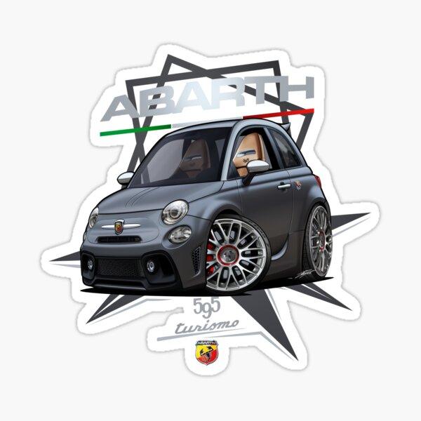 Fiat 595 Abarth Pista 2020 Sticker