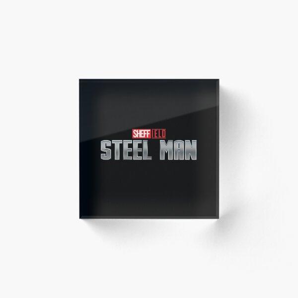 SHEFFIELD STEEL MAN (Sheffield Superheroes) Acrylic Block