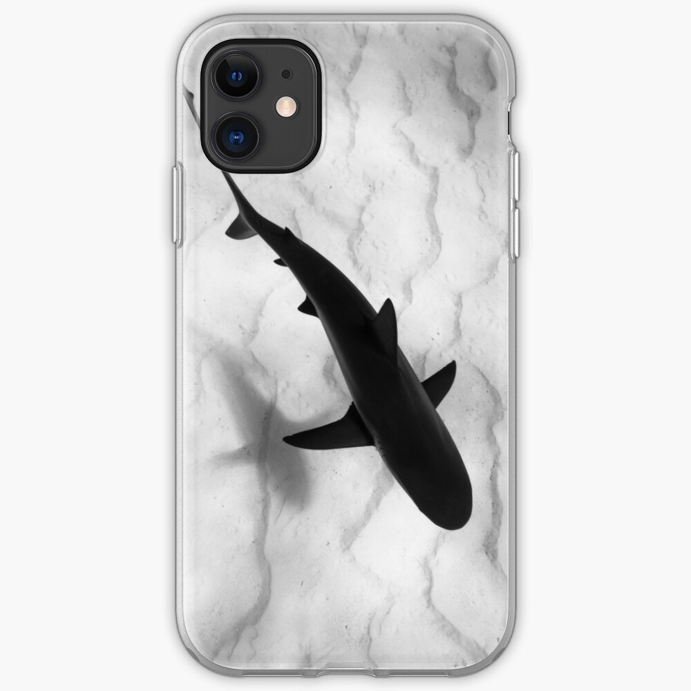 Shark in silhouette iPhone Case & Cover