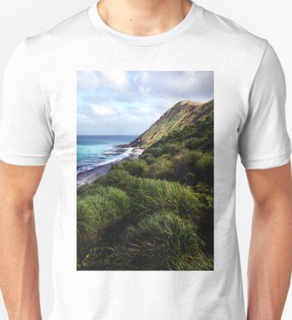 Coastal View, Maquarie Island T-Shirt