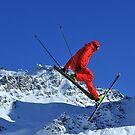 ski jumper by neil harrison