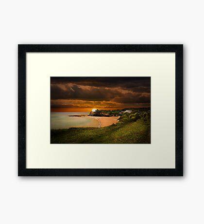 Fantasy Bay Framed Print