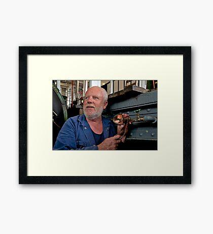 Portrait of a Stranger 3 Framed Print