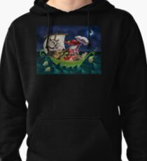 The Owl and the Pussycat Pullover Hoodie