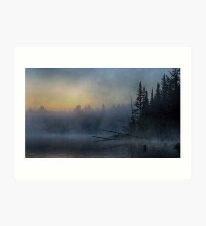 5am - Wilson Lake, Quebec Art Print