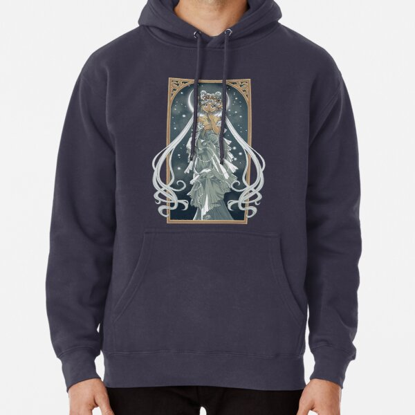 The Moon and Stars Pullover Hoodie