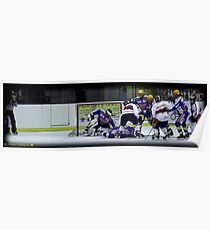 Hockey Milano Rossoblu. Poster