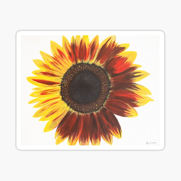Sunflower Power #1 Sticker