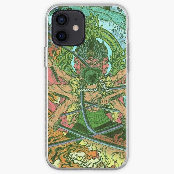 Roronoa Zoro One Piece Coque souple iPhone