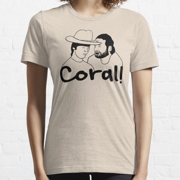 The Walking Dead- Coral Essential T-Shirt