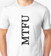 MTFU - sideways - light tee Unisex T-Shirt 7278433bf