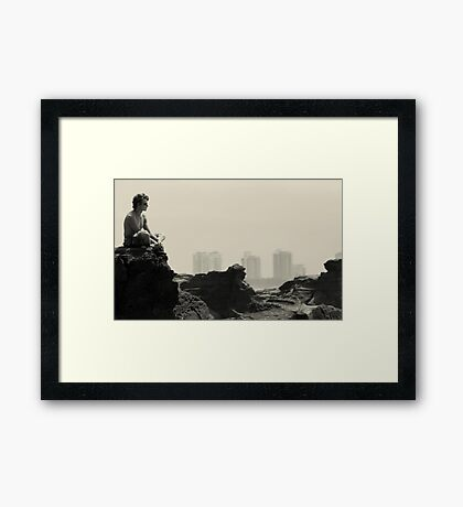"""Searching"" Framed Print"