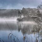 Windermere ...March Mist by Jamie  Green