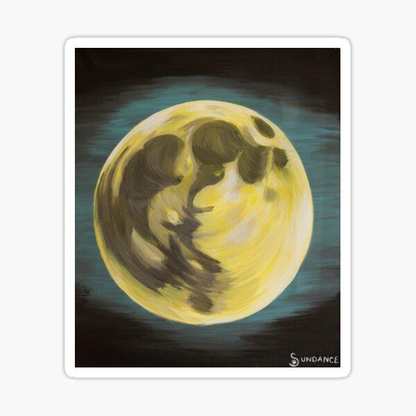 Moonlight, Midnight, Moonlight  Sticker