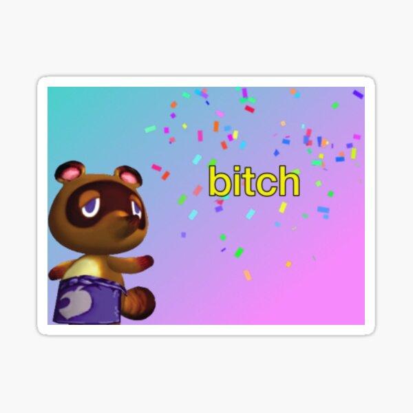 tom nook animal crossing meme Sticker