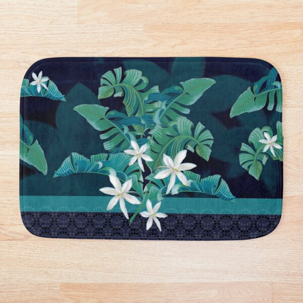 Midnight at the Oasis Bath Mat