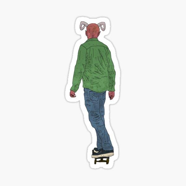 Demon Skateboarding Sticker