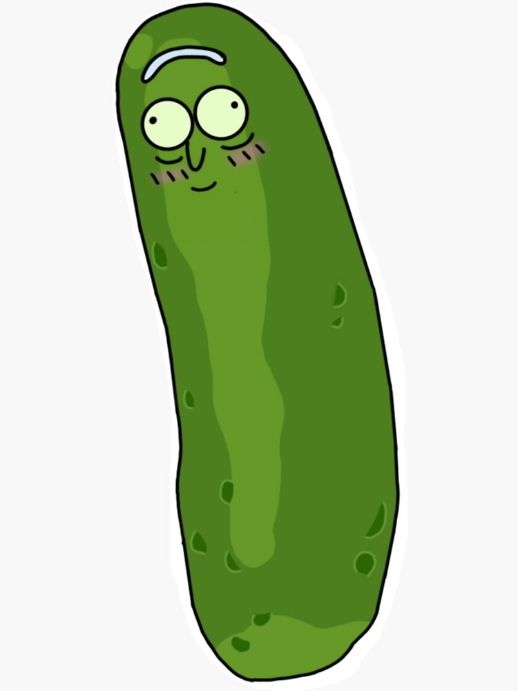 Cute Pickle Rick by maddyberg
