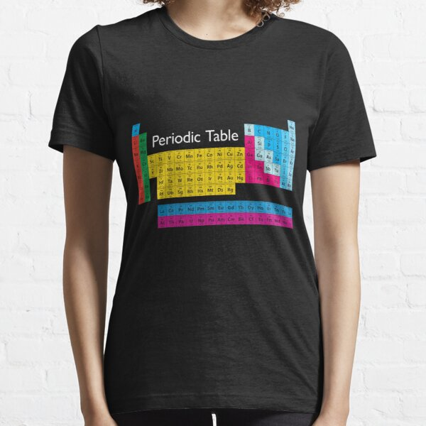 Periodic Table of Elements Essential T-Shirt