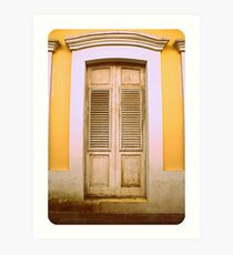 doors of San Juan Art Print