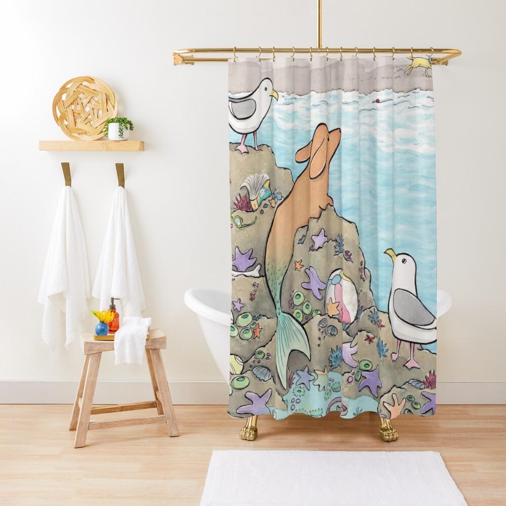 The Merdog Shower Curtain