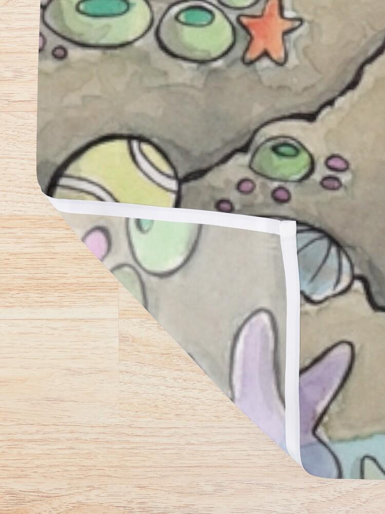 Alternate view of The Merdog Shower Curtain