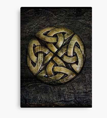 Celtic Dreamer Canvas Print