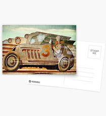 Wacky Racer Postcards