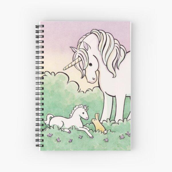 Baby Unicorn Spiral Notebook