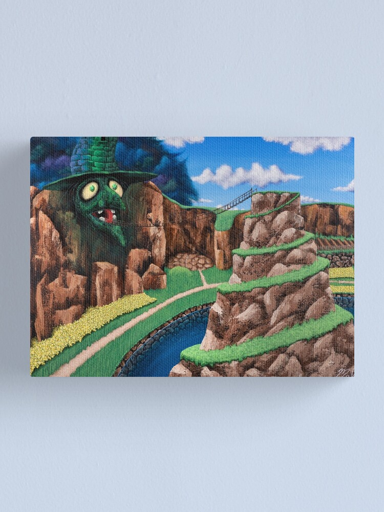 Alternate view of Spiral Mountain Canvas Print