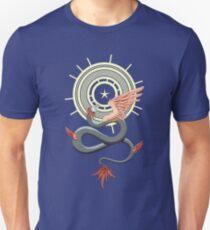 Quetzalcoatl Camiseta ajustada