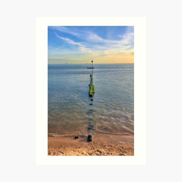 Chalkwell Sea Groin Art Print