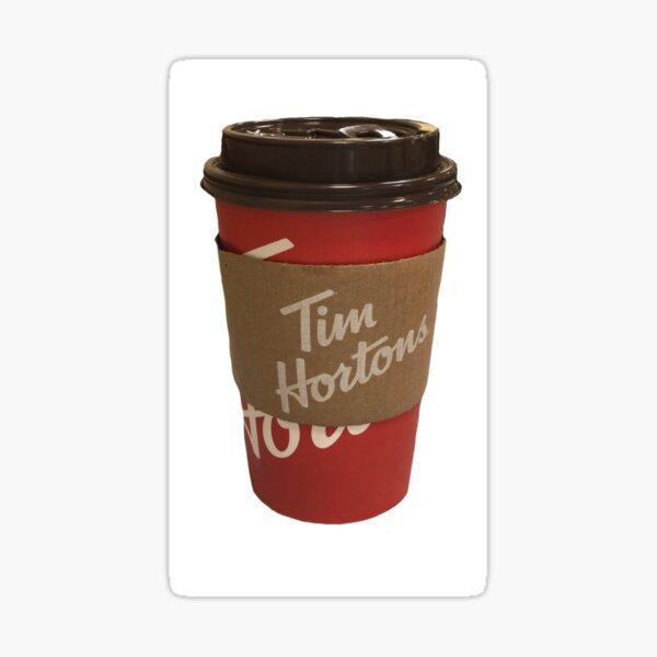 Tim Hortons Cup Sticker