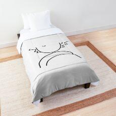 Rick and Morty Minimal Comforter