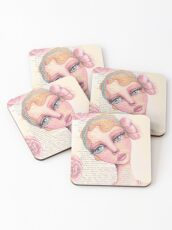 Flapper Girl Coasters