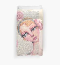 Flapper Girl Duvet Cover