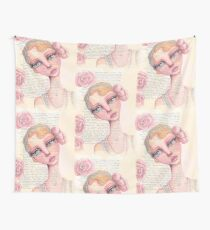 Flapper Girl Wall Tapestry