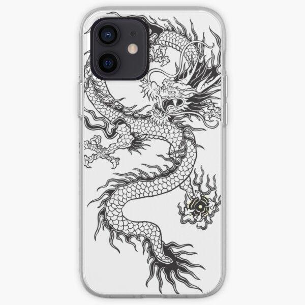 Dragon chinois Coque souple iPhone