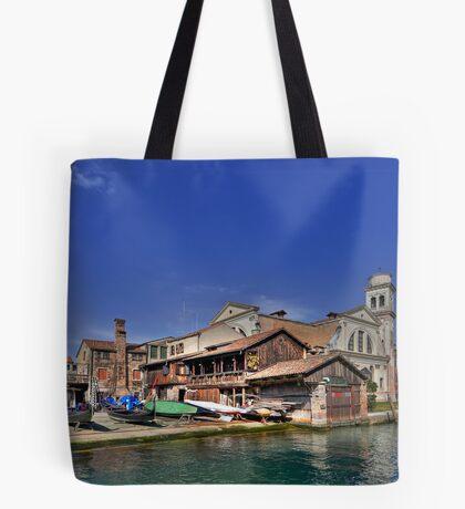 Squero di San Trovaso - Venice Tote Bag