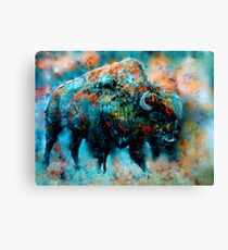 strength and patience of the greatest Canvas Print