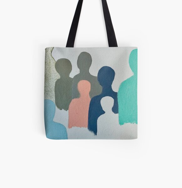 Angel in Disguise  All Over Print Tote Bag