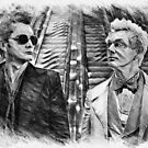 Crowley and Aziraphale Ineffable Husbands by orionlodubyal