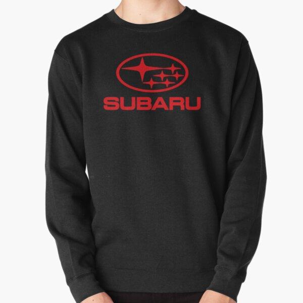 SUBARU-RED Pullover Sweatshirt