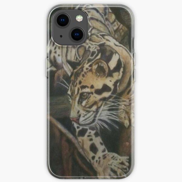 Focused - Clouded Leopard iPhone Soft Case
