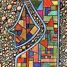 195 - PEBBLES DESIGN - DAVE EDWARDS - COLOURED PENCIL - 2007 by BLYTHART