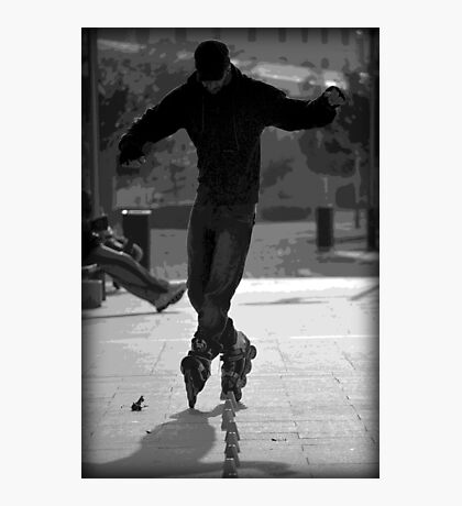 Trick Blader Photographic Print